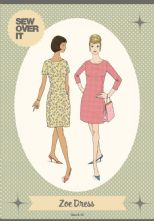 Vintage Inspired 1960's 'Zoe' Dress Pattern